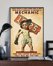 August Mechanic 24x36 Poster lifestyle-poster-2