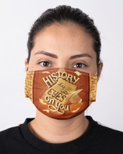 History Has Its Eyes On You Cloth face mask aos-face-mask-lifestyle-01