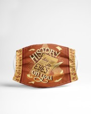 History Has Its Eyes On You Cloth face mask aos-face-mask-lifestyle-22