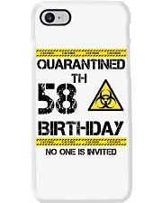 58th Birthday 58 Years Old Phone Case thumbnail