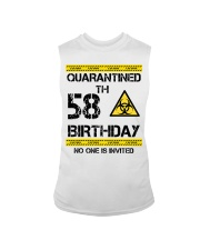 58th Birthday 58 Years Old Sleeveless Tee thumbnail