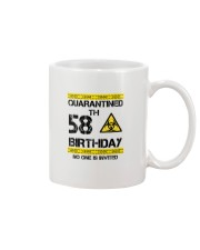 58th Birthday 58 Years Old Mug thumbnail