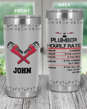 Hourly Rate Plumber- Personalized Christmas Gift 20oz Tumbler aos-20oz-tumbler-lifestyle-front-59