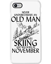 An Old Man Loves Skiing November Phone Case thumbnail