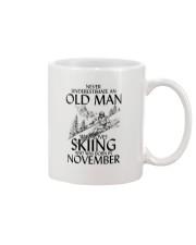 An Old Man Loves Skiing November Mug thumbnail