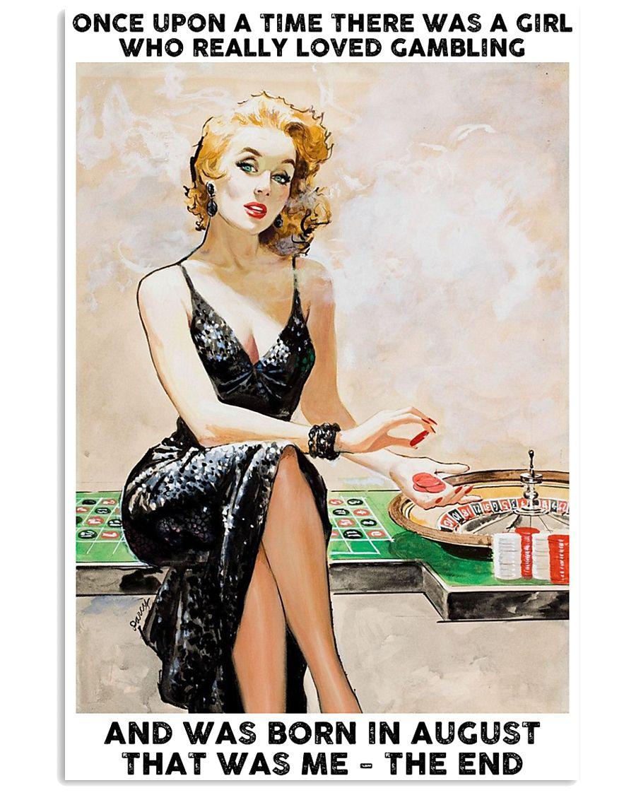 August Girl-Gambling 24x36 Poster