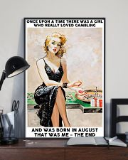 August Girl-Gambling 24x36 Poster lifestyle-poster-2