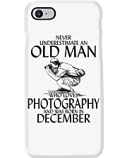 Never Underestimate Old Man Photography December Phone Case thumbnail