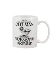 Never Underestimate Old Man Photography December Mug thumbnail