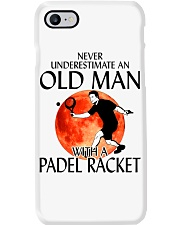 Never Underestimate An Old Man With A Padel Racket Phone Case thumbnail