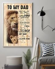 To My Dad From Son Lion 24x36 Poster lifestyle-poster-1