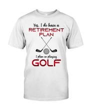 Golf  lover Classic T-Shirt front