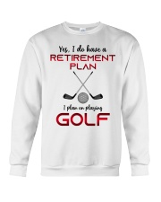 Golf  lover Crewneck Sweatshirt thumbnail