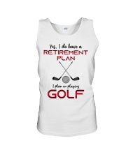 Golf  lover Unisex Tank thumbnail