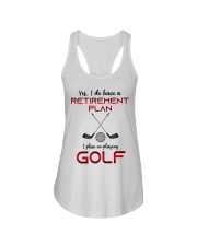 Golf  lover Ladies Flowy Tank thumbnail