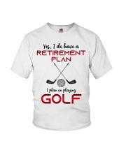 Golf  lover Youth T-Shirt thumbnail