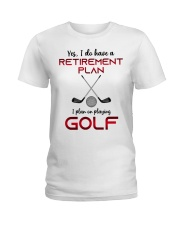 Golf  lover Ladies T-Shirt thumbnail