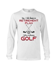 Golf  lover Long Sleeve Tee thumbnail