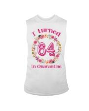 64th Birthday 64 Years Old Sleeveless Tee thumbnail