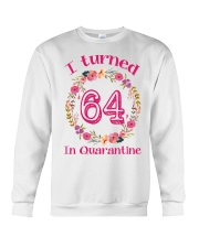 64th Birthday 64 Years Old Crewneck Sweatshirt thumbnail