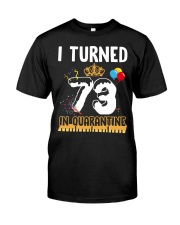 73rd Birthday 73 Years Old Classic T-Shirt front