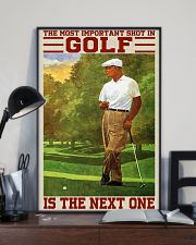 The Most Important Shot In GOlf Is The Next One 24x36 Poster lifestyle-poster-2