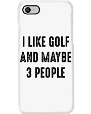 I Like Golf And Maybe 3 People Phone Case thumbnail