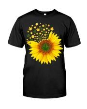 I Love Sunflower  Classic T-Shirt front