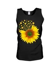 I Love Sunflower  Unisex Tank thumbnail