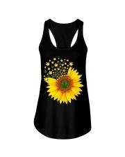 I Love Sunflower  Ladies Flowy Tank thumbnail