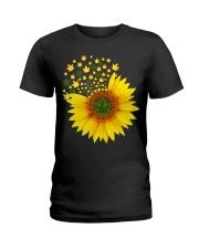 I Love Sunflower  Ladies T-Shirt thumbnail