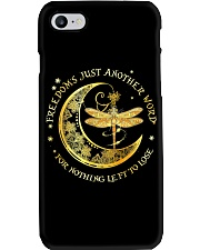 Dragonfly Moon Phone Case tile