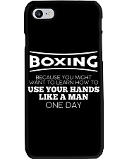 Boxing Beacause You Might Want To Learn Phone Case thumbnail