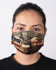 Hunting Amrecian Flag Cloth face mask aos-face-mask-lifestyle-01