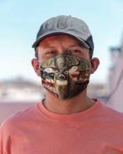 Hunting Amrecian Flag Cloth face mask aos-face-mask-lifestyle-06