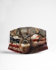 Hunting Amrecian Flag Cloth face mask aos-face-mask-lifestyle-22