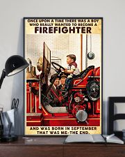 September Firefighter 24x36 Poster lifestyle-poster-2