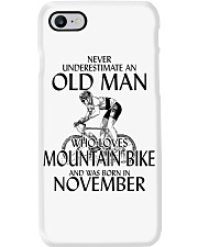 Never Underestimate Old Man Mountain Bike November Phone Case thumbnail