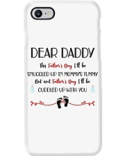 This Father's Day I'll Be Snuggled Up In Mommy's T Phone Case thumbnail