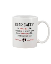 This Father's Day I'll Be Snuggled Up In Mommy's T Mug front