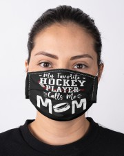 my favorite hockey player calls me mom Cloth face mask aos-face-mask-lifestyle-01