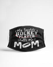 my favorite hockey player calls me mom Cloth face mask aos-face-mask-lifestyle-22