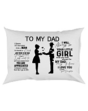 I Know It's Not Easy To Raise A Child Rectangular Pillowcase back