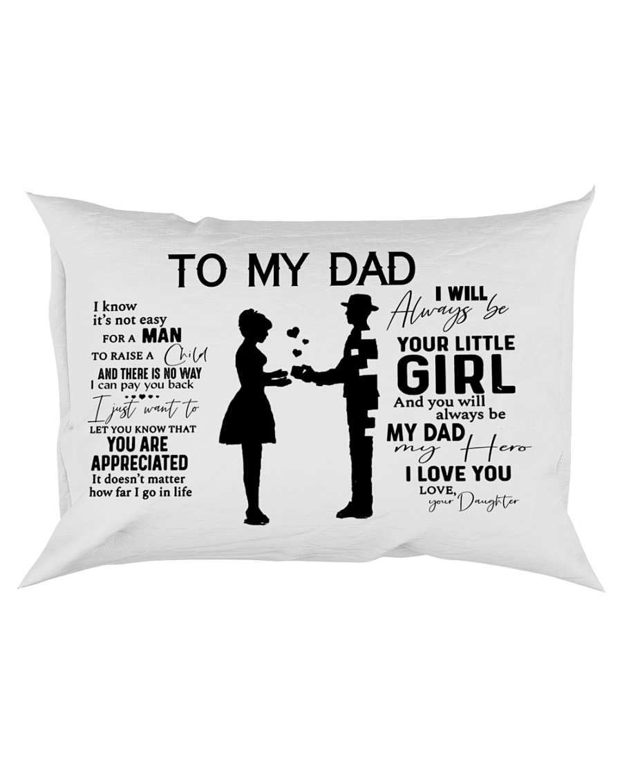 I Know It's Not Easy To Raise A Child Rectangular Pillowcase