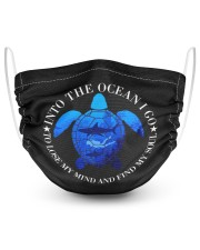 Scuba diving 2 Layer Face Mask - Single front