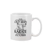 Never Underestimate Old Man Karate October Mug thumbnail