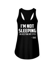 I'm Not Sleeping Funny Dad Ladies Flowy Tank thumbnail