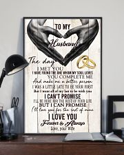 To My Husband The One Whom My Soul Loves 24x36 Poster lifestyle-poster-2