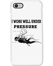 Scuba Diving i work well under pressure Phone Case thumbnail