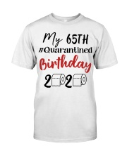 65th Birthday 65 Year Old Classic T-Shirt front